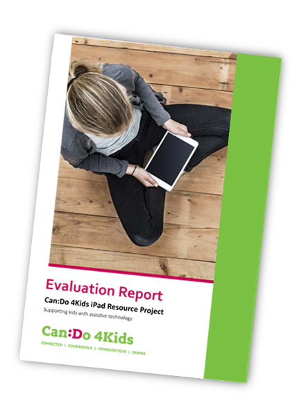 iPad Resource Project Evaluation Report Front Cover